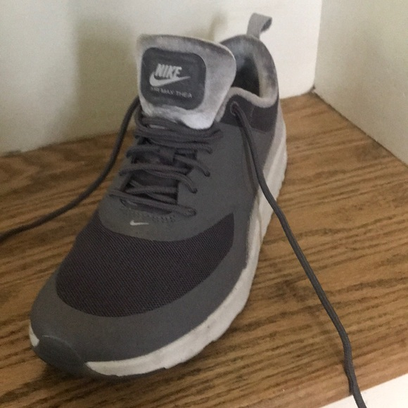 various colors fd479 5c6e7 Nike Women s Air Max Thea Sneakers in Gunsmoke. M 5b86ffd5d8a2c7d5753db514